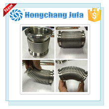 High efficiency non-welded bellows stainless steel corrugated axial pipe compensator/expansion joint