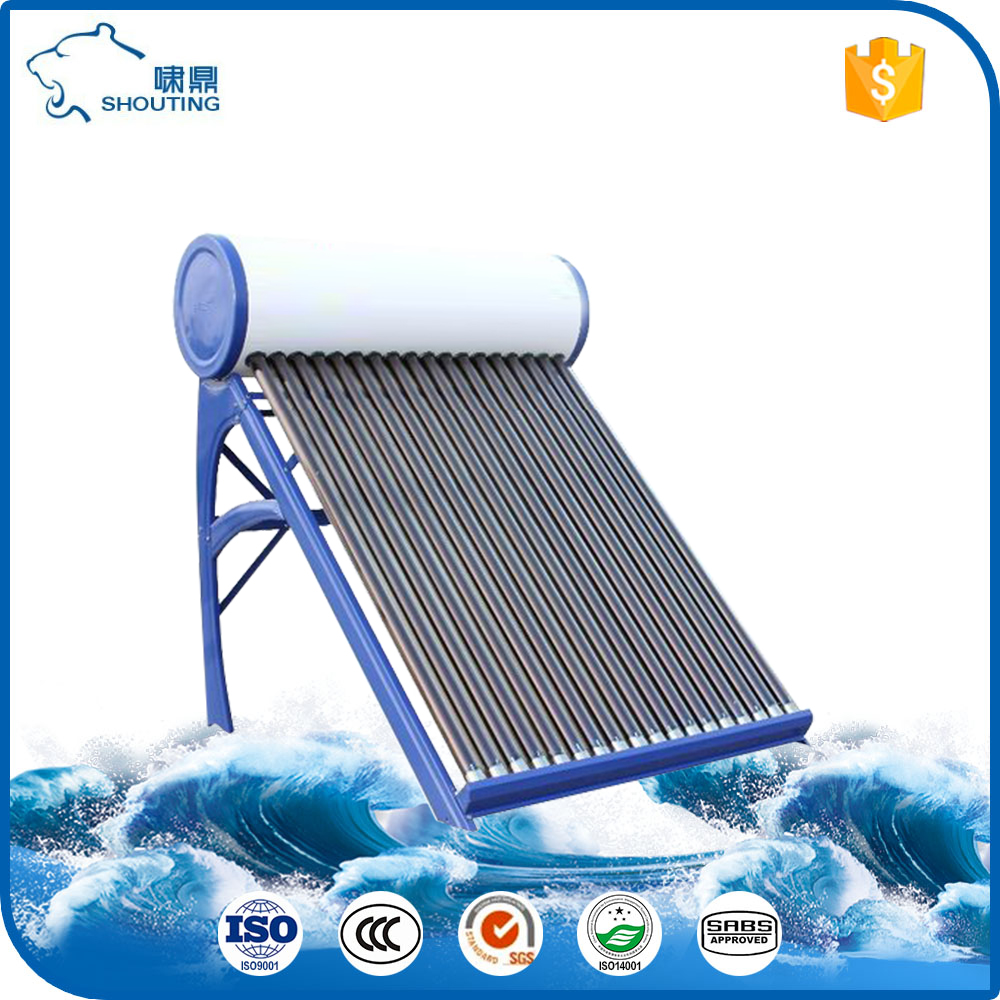 Space-saving intergrated roof-mounted solar thermal system solar panel calculator for hot water