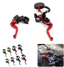 CNC Aluminum Normal Short Motorcycle Bicycle Brake Clutch Levers