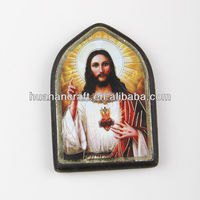 wooden Painting Frame pendant crucifix