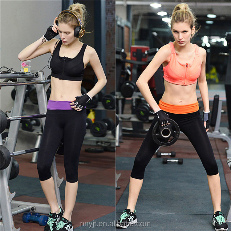 Summer Cool Thin High Waist Short Pants for Fitness Yoga Pants Womens