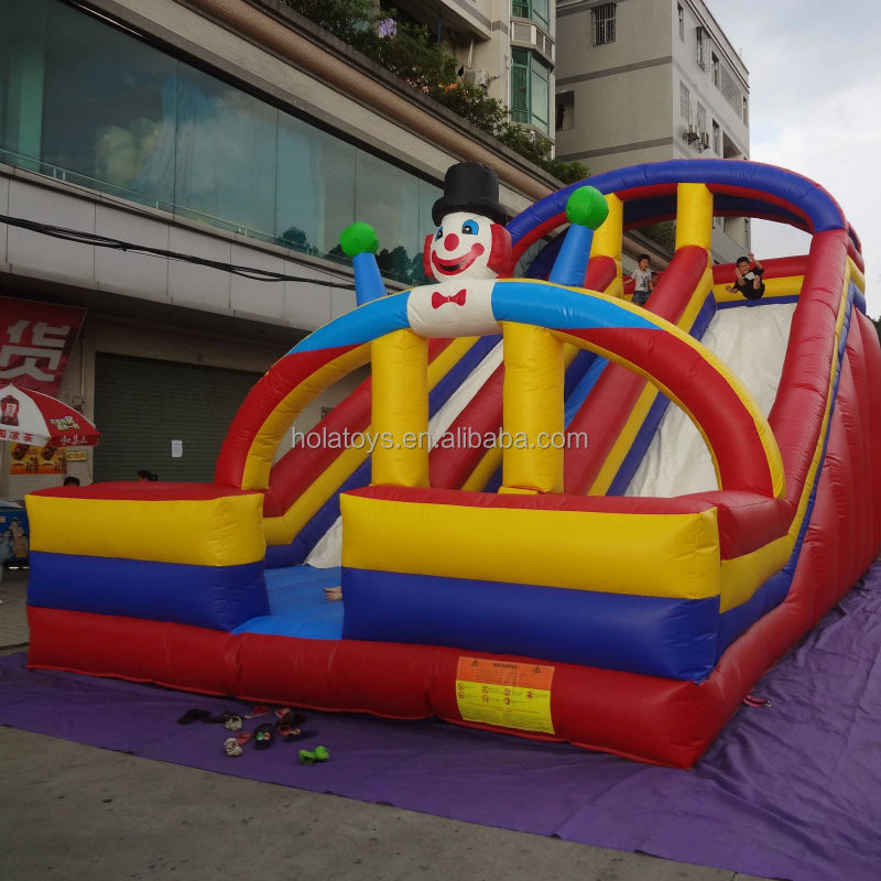 Hola summer funny inflatable kids slide for sale