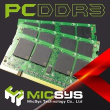 Taiwan best selling PC3 12800 DDR3 8GB sodimm ram for laptops