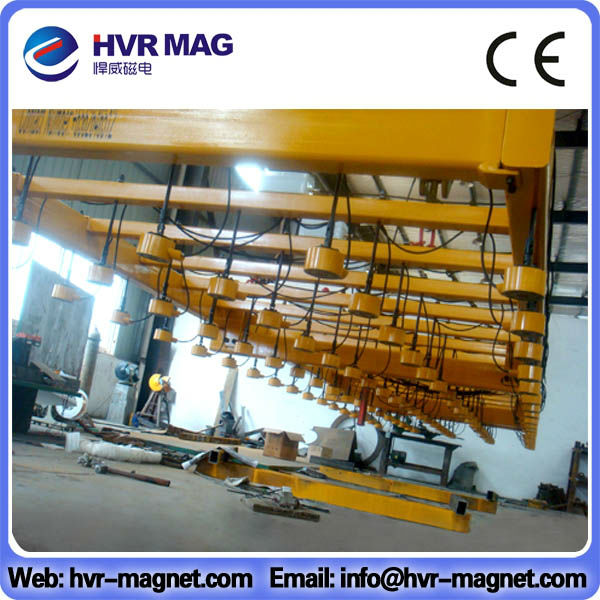 Round electro permanent lifting magnet / Small Round Electromagnet
