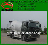 sinotruk howo model cement trucks