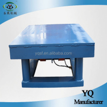 concrete vibrating table molds for removing air bubbles in cube moulds