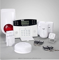 99 guard zone wireless home alarm & GSM burglar alarm system with contact 6 phone numbers to auto-dail