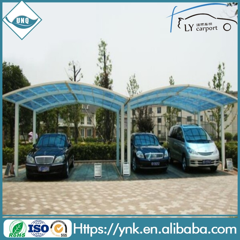 building materials colored easy assembly polycarbonate sheet coloring sheets car canopy/car