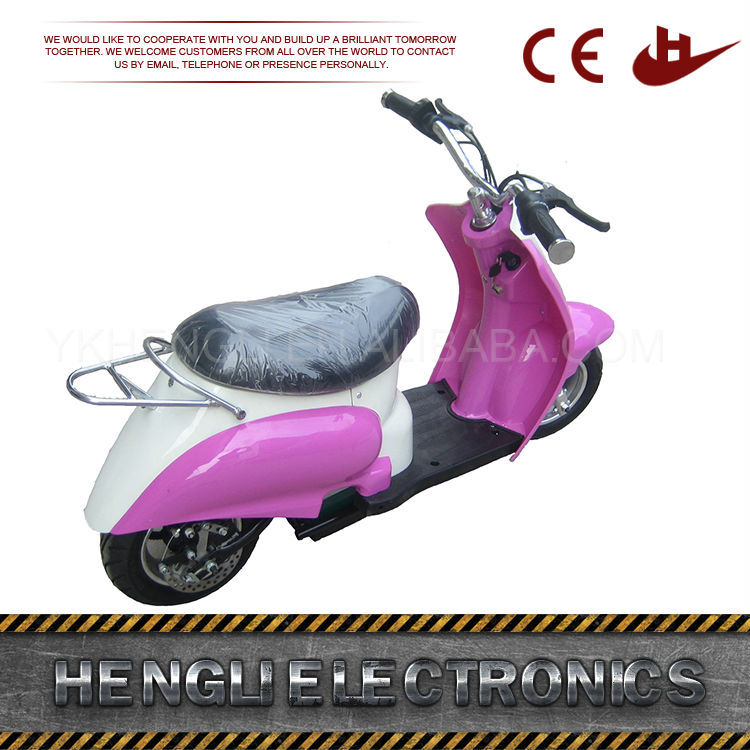 Front and rear disc brake mini chopper pocket bike