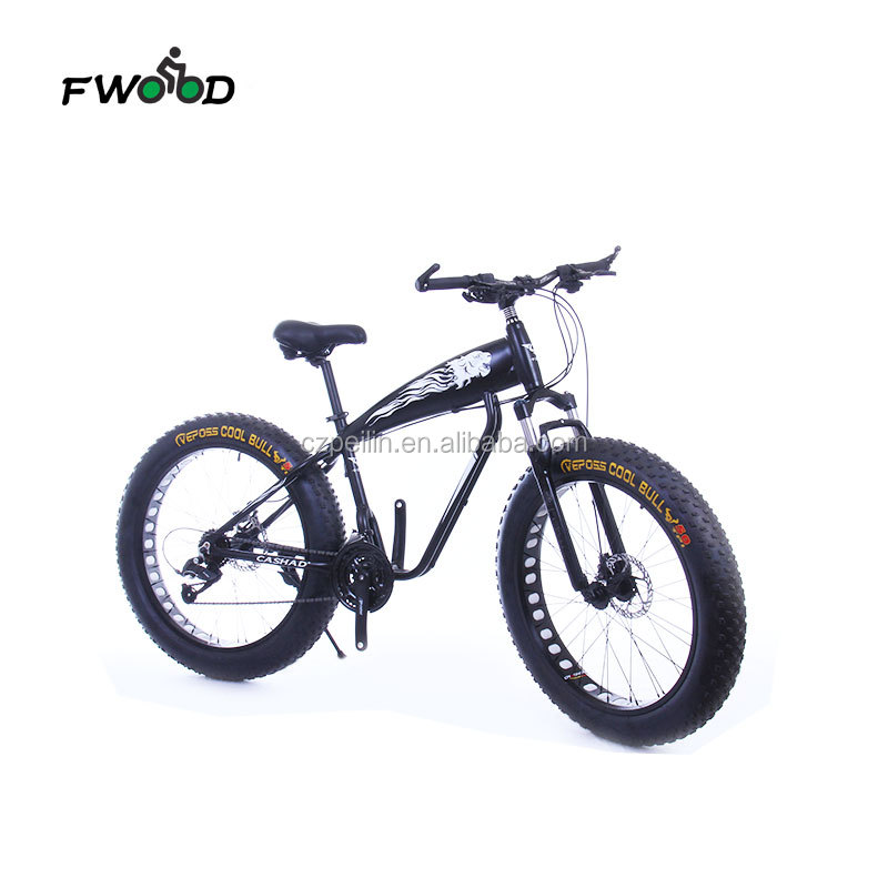 26 inch aluminum alloy frame fat tire mens mountain bike sale