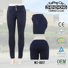 P590531-2-B1 women sexy jeans leggings tights skinny black jeans