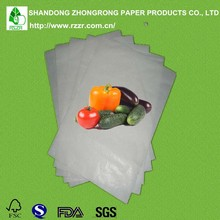 pe coated wrapping paper for Frozen vegetables
