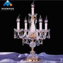 Home Goods Crystal Chandelier Table Lamps