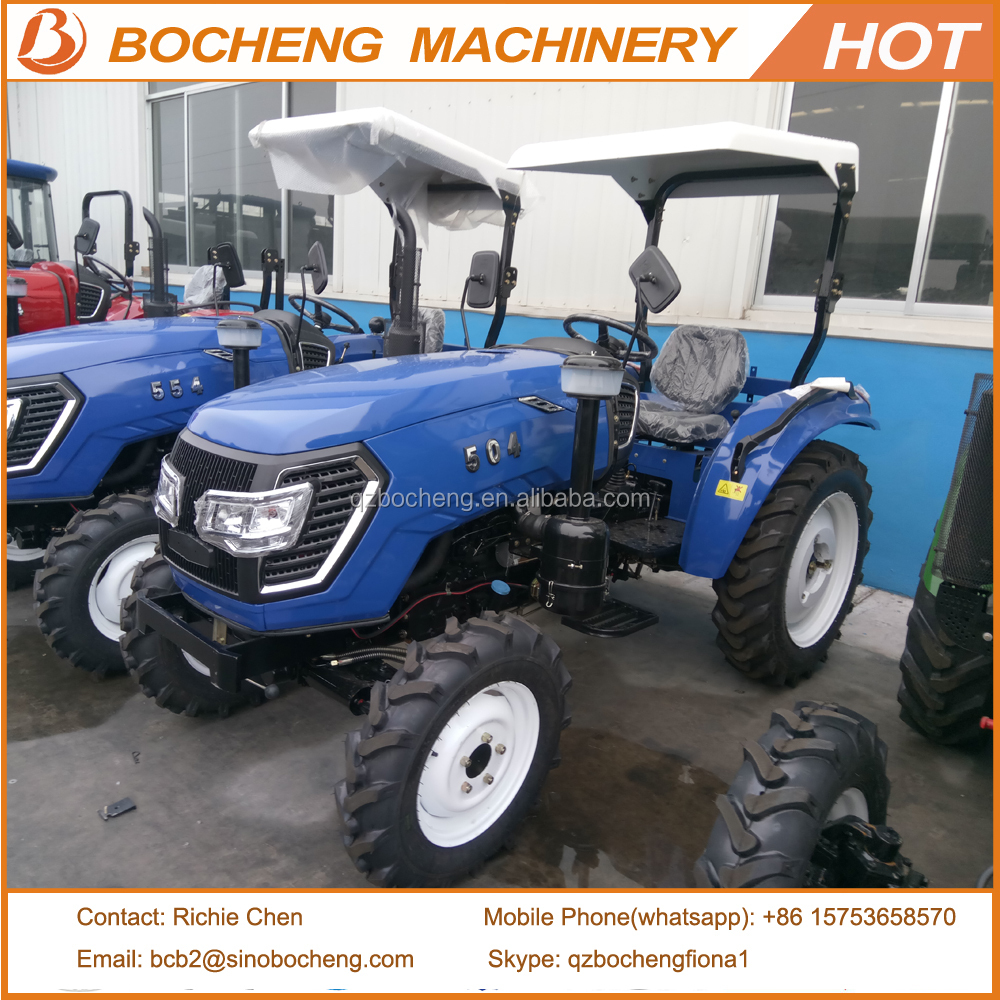 50HP 4WD Medium Agriculture Tractor Made in China