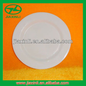 7'' White Melamine Rice Plate