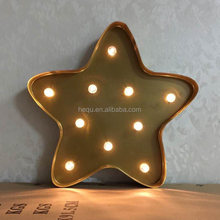 Amazon wall haging free standinng naive decor lighted star shaped metal christmas decoration