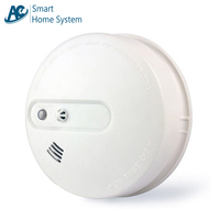 mains wireless smoke alarm thermal heat detector 433MHZ 315MHZ alarm sensors