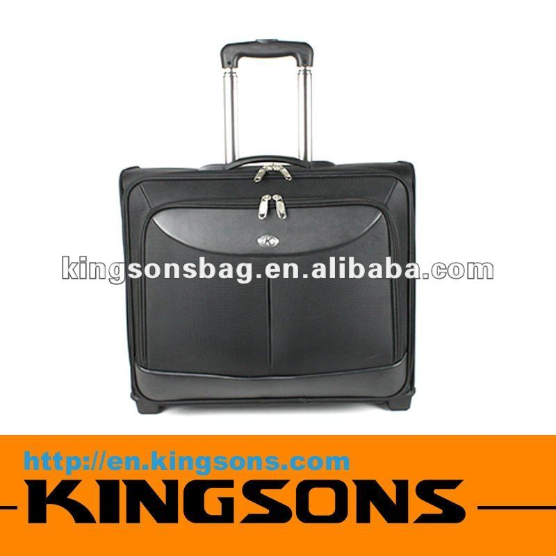China Newest Big Size Nylon Laptop Trolley Bag