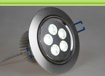 Dimmable 5w led ceiling downlight