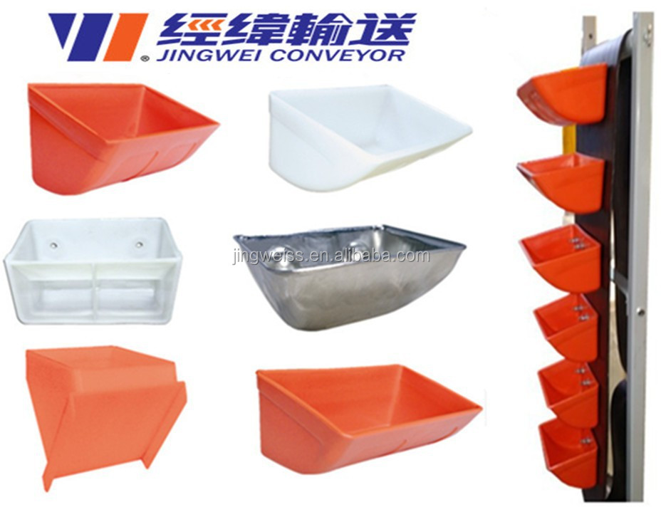 Hot Sell High Quality Plastic / Steel Elevator Bucket