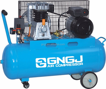 High pressure Italy air compressor with double vertical pump