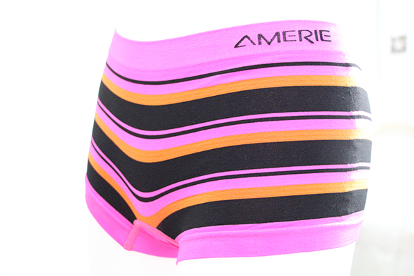 Ladies seamless boyleg in stripe/OEM boyleg in high quality