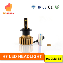 2015 new products h7 motorcycle and scooter led headlight for electric scooter