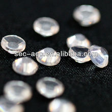Hot Fix Nude Rhinestone motif lron on transfer for wedding dress