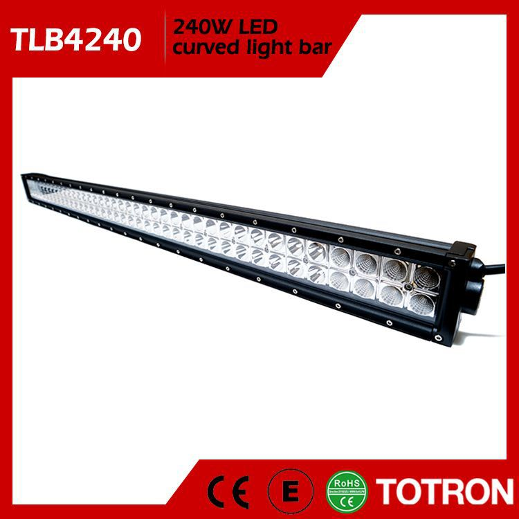 TOTRON Super Quality Factory Supply Camouflages 252 Led Light Bar For Car