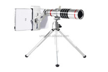 18X optical zoom telescope lens+universal clip for Smart Phone,iPhone 6S 6Plus Samsung Mobile Phone Telephoto Lens