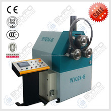 WYQ-16 Hydraulic angle steel roll bending machine, hydraulic profile bending machine pre-bending section bender