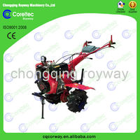 air cooling gasoline 170F belt driven tractor rototiller for farm with low fuel consumption