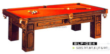 Cheap solid wood pool billiard table for sale