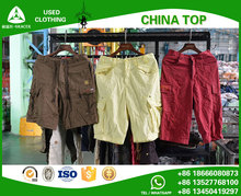 China wholesale second hand clothes Mixed Short Pants mens cargo shorts used clothes bales