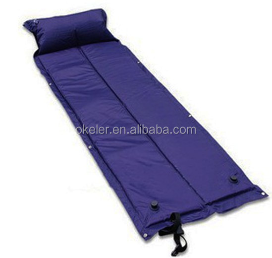 2 in 1 two person Automatic Self Inflating Mattresses Sleeping Pads For Outdoor Camping