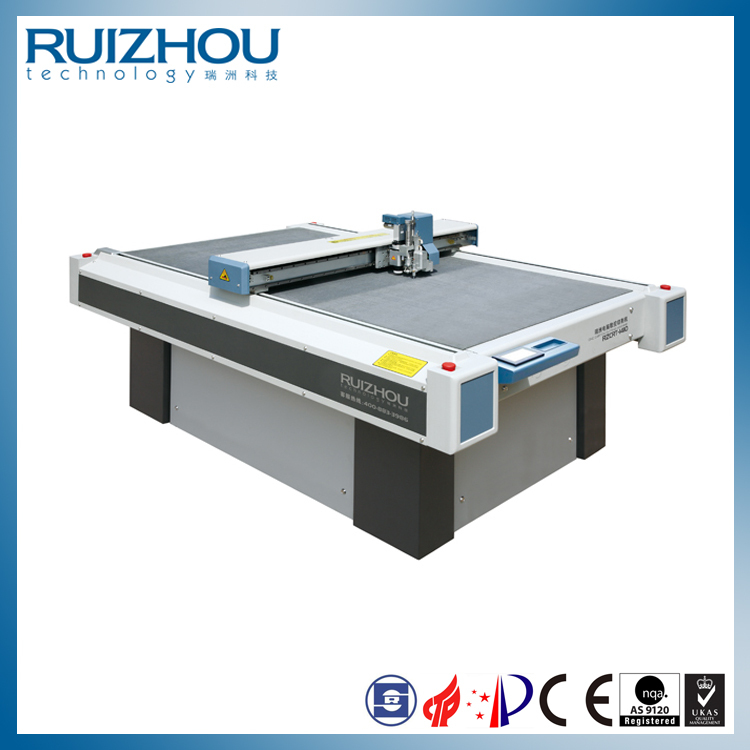 CNC Oscillating Blade Cloth Bag Cutting Machine