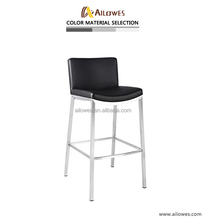 Stainless steel bar stool high chair
