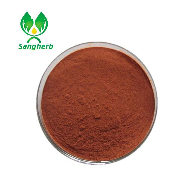 GMP Manufacture Natural Salvia Miltiorrhiza Extract/Salvia Extract Powder/Danshen Root P.E.CAS NO. 99-50-3