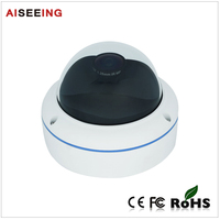 3MP 360 Degree CCTV Vandalproof Fisheye Panoramic Dome IP Camera