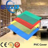 China opaque colour A4 PVC binding cover