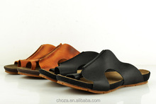 C11546C European Fashion High Quality Genuine Leather Men's Sandals