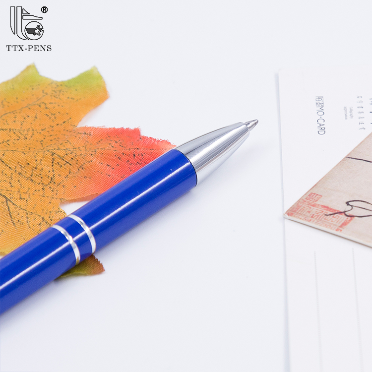 2018 High Quality Promotional Metal Aluminum Pen With Custom Logo