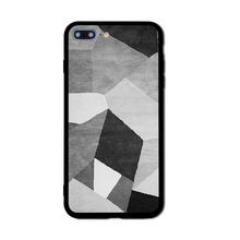 New Style Creative Geometric Design Mobile Phone Cover Coloured Drawing Or Pattern
