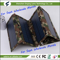 NEW! 2016 Electronic Products ! Flexible 7W Solar Charger Folding Solar Panel for Mobile Phone