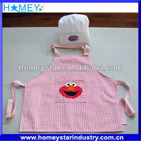 kids garden hat and apron
