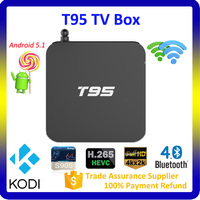 2016 Cheapest Price Set Top Box with XBMC Kodi 16.0 Preinstalled, T95 mini Android TV, Smart TV BOX Android
