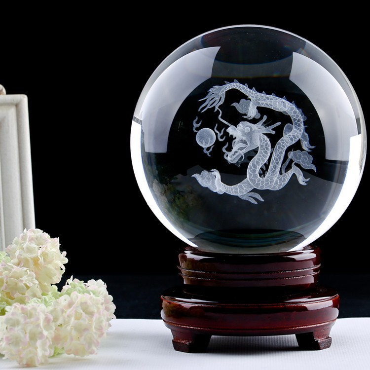 custom personalized dragon ball crystal ball