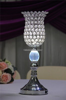 tall crystal vase centerpieces with silver/bling for vase tops/wedding centerpiece clear crystal centerpiece tran