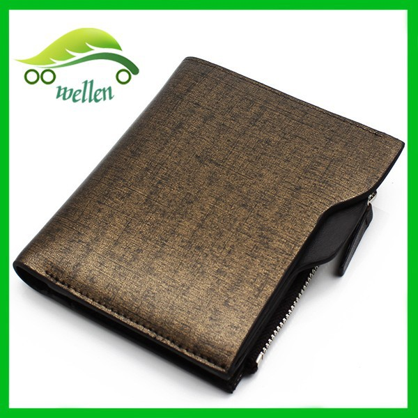 Wholesale luxurious leather pocket size business card for Leather pocket business card holder
