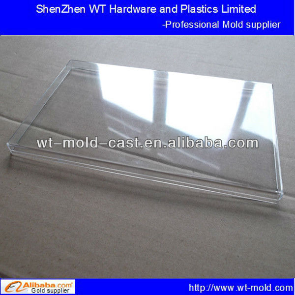 plastic molded clear packaging box